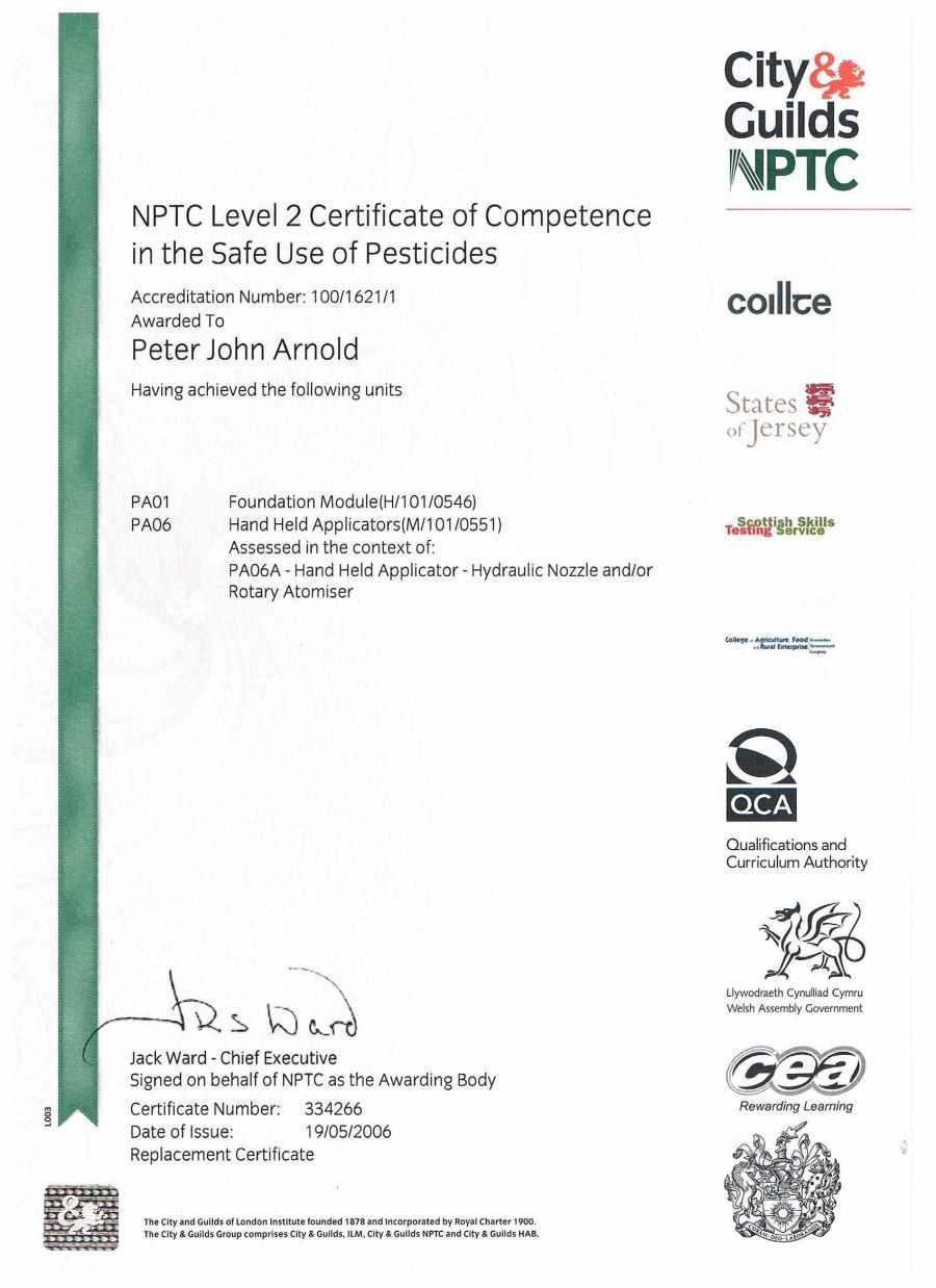 nptc tree insured certificates qualified surgeons london