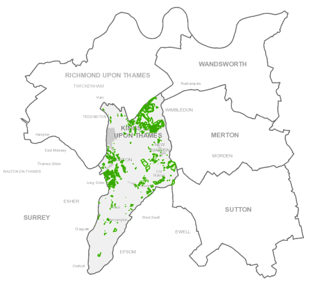 Conservation Areas and TPO in Kingston upon Thames
