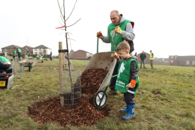 Planting Trees in Ealing