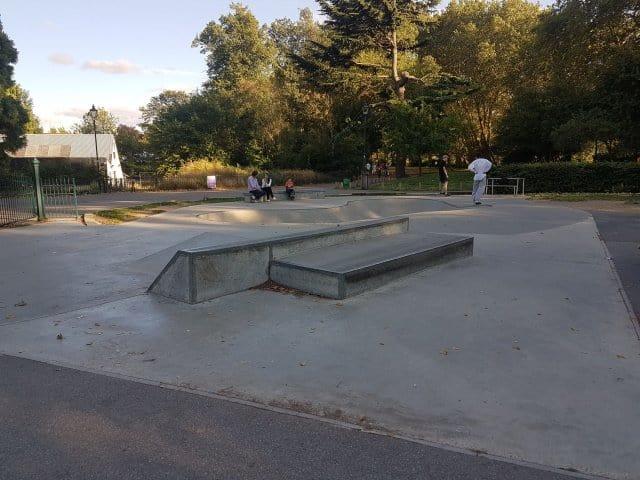 Bishops Park Fulham Skate Park