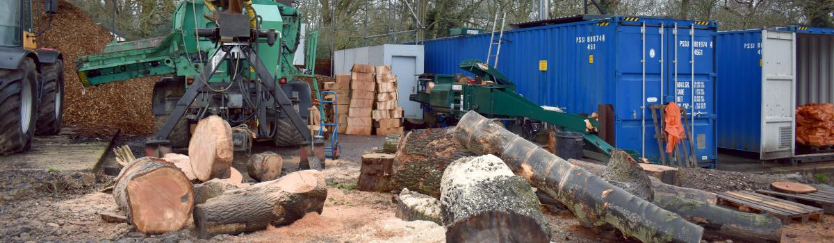 Biomass Wood Chip Header